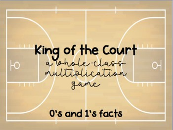 King of the Court: A Whole-Class Multiplication Game