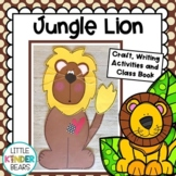 Jungle and Zoo Lion Craft, Class Book and Writing Activities