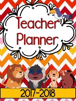 King of the Lions Teacher Planner