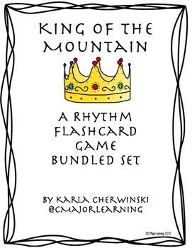 King of the Mountain - Rhythm Practice Game Bundled Set