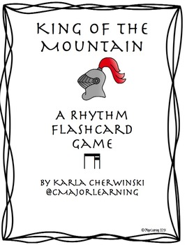 King of the Mountain - Rhythm Practice Game ti-tika (eighth 2 sixteenth notes)
