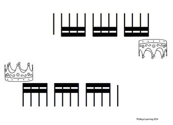 King of the Mountain - Rhythm Practice Game tika tika (4 sixteenth notes)