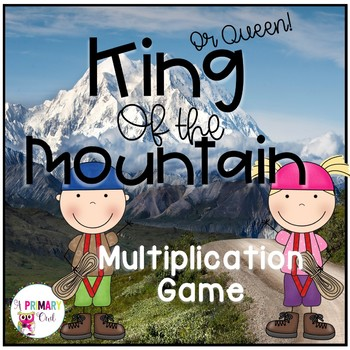 King of the Mountain: Whole Class Multiplication Game