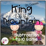 King of the Mountain: Whole Class Subtraction to 10 Game
