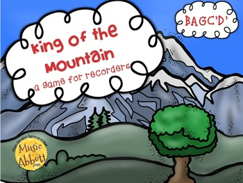 King of the Mountain: a BAGC'D' Recorder Game & Assessment