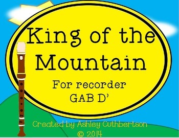 King of the Mountain for Recorder: GAB D'