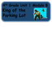 ReadyGen King of the Parking Lot Vocabulary Words / Word Wall Cards 4th Grade