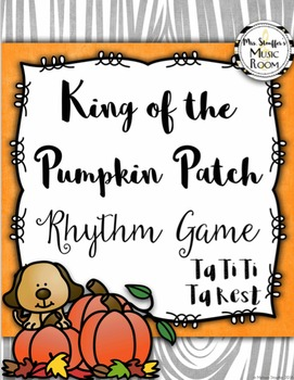 King of the Pumpkin Patch {Ta TiTi Ta Rest}
