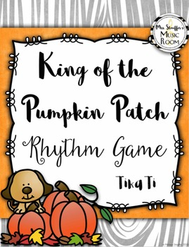 King of the Pumpkin Patch {Tika Ti}