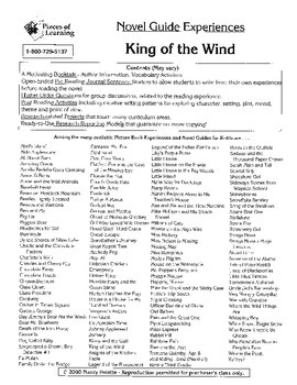 King of the Wind Literature Guide