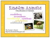 Kingdom Animalia Classification of Animals