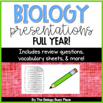 28 Biology Notes/Presentations
