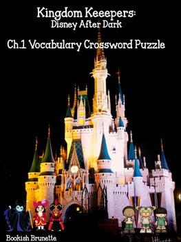Kingdom Keepers Crossword Puzzle ch.1 vocabulary