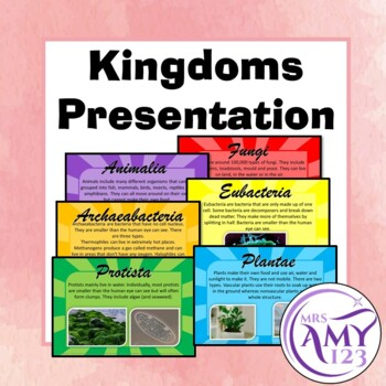 Kingdom Presentation or Posters