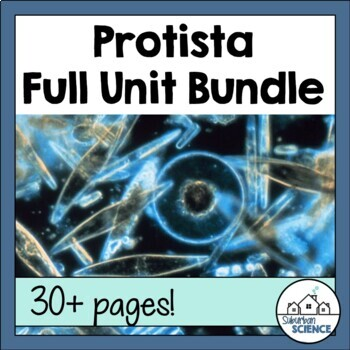 Kingdom Protista: Powerpoint, Notes, Lab, Student Review Centers, & Quiz