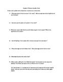 Kingdom of Heaven Movie Question Sheet