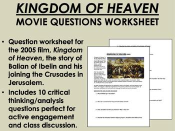 Kingdom of heaven essay