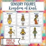 Kingdom of Kush Sensory Figures