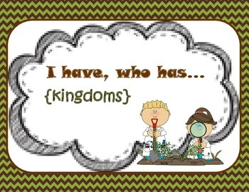 Kingdoms {I have, who has}