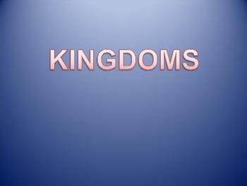 Kingdoms PPT  ORIC