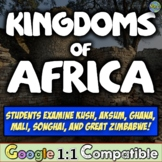 Kingdoms of Africa Stations Timeline Activity | Kush Ghana