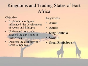 Kingdoms of East Africa