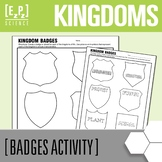 Kingdoms of Life Badges Science Project