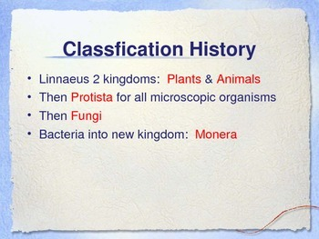 Kingdoms of Life PowerPoint