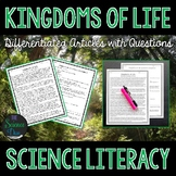 Kingdoms of Life - Science Literacy Article