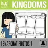 Kingdoms of Life Science Snapchat Template
