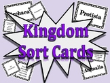 Kingdoms of Life Sort Cards