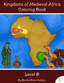 Kingdoms of Medieval Africa Coloring Book-Level B