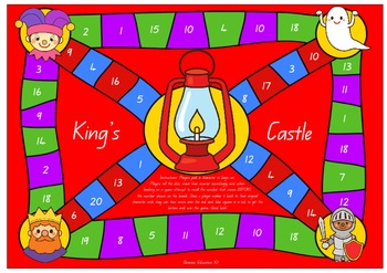 King's Castle Number Before Board Game