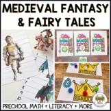 Preschool Medieval Fantasy Castle Dragon Activities