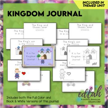 Kings (& Queens) Printable Journal