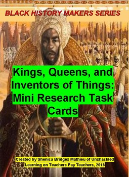Kings, Queens, and Inventors of Things