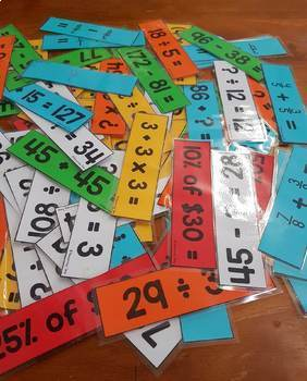 Mental Maths Strategy and Fact Fluency Game Year 5 & 6