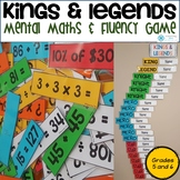 Kings and Legends - Mental Maths Strategy and Fluency Game