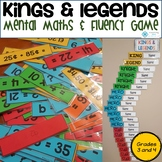 Kings and Legends - Mental Maths Strategies and Fluency Game