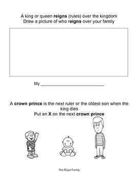Kings and Queens--Engage NY--Common Core--Kindergarten--Domain 7