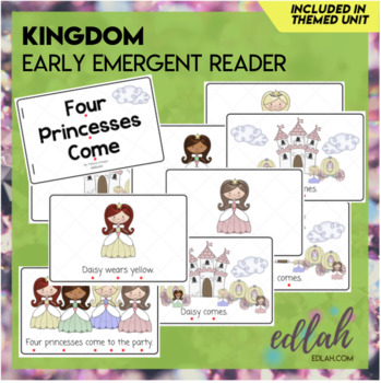 Kings and Queens Early Emergent Reader