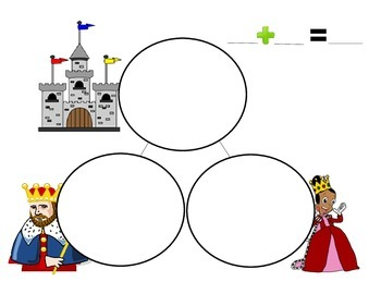 Kings and Queens Part Part Whole Template