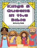 Kings and Queens in the Bible Activity Pack