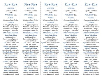 Kira-Kira edition of Bookmarks Plus—A Very Handy Little Re