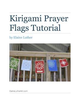 Kirigami Prayer Flags Tutorial