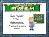 Kids' Friendly Mathematical Practices