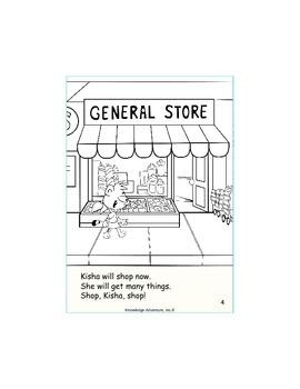 Kisha's  Big Job    Book 5