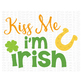 Kiss Me Im Irish Cut File