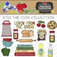 Kiss The Cook Clipart Collection || Commercial Use Allowed