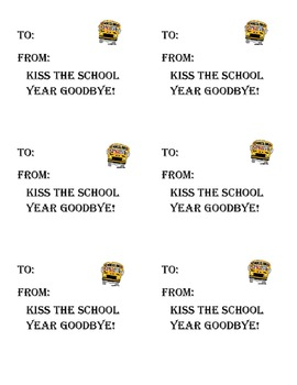 Kiss The School Year Goodbye Fundraiser